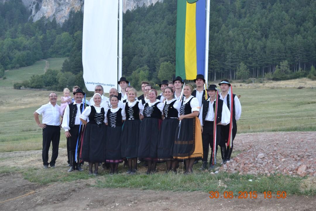 Weidefest az Ausztriai Maiersdorfban a Hohe Wand lábánál